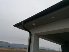 Inštalácia kamier v Dolných Kočkovciach – novostavba domu